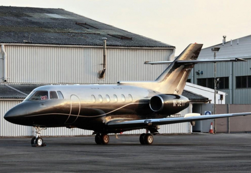 Personal Luxury Jets For Sale  Hawker